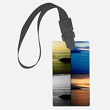 Quadriptych seascape Luggage Tag