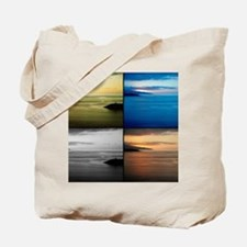 Quadriptych seascape Tote Bag