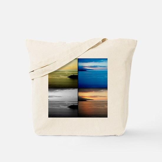 Quadriptych seascape Tote Bag