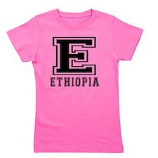 Ethiopia Designs Girl's Tee