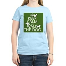 Keep Calm and Walk The Dog T-Shirt