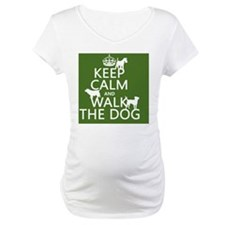 Keep Calm and Walk The Dog Shirt