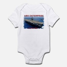 USS Enterprise Infant Bodysuit