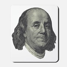 Franklin $100 Design Mousepad
