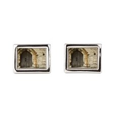 Old Castle Gate Cufflinks