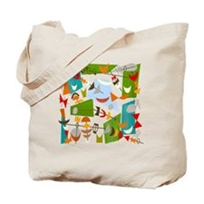 Atomic Funky Best C Clear Tote Bag