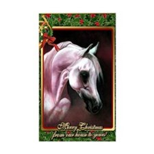 Arabian Horse Christmas Decal