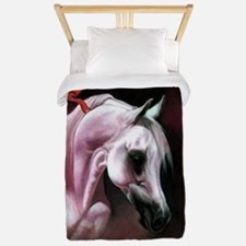 Arabian Horse Christmas Twin Duvet