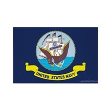 Navy Flag Magnets