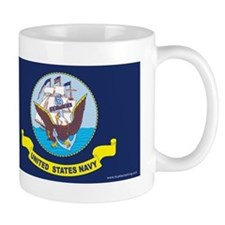 Navy Flag Mugs