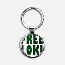 Free Loki Round Keychain