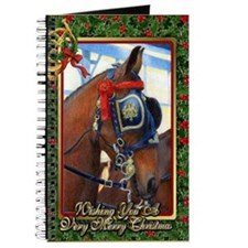 Cleveland Bay Horse Christmas Journal