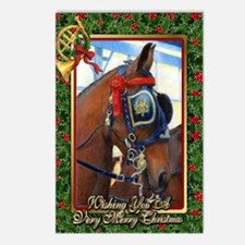 Cleveland Bay Horse Chris Postcards (Package of 8)