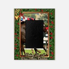 Thoroughbred Racehorse Christmas Picture Frame