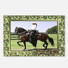 Paso Fino Horse Christmas Postcards (Package of 8)
