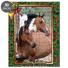 Paint Horse Christmas Puzzle