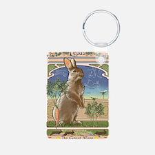 Art Nouveau Rabbit Keychains