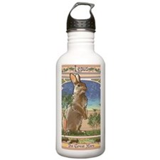 Art Nouveau Rabbit Water Bottle