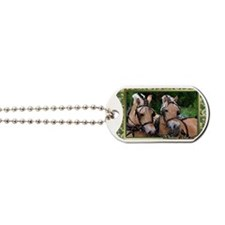 Norwegian Fjord Horse Christmas Dog Tags