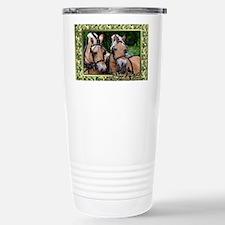 Norwegian Fjord Horse C Stainless Steel Travel Mug