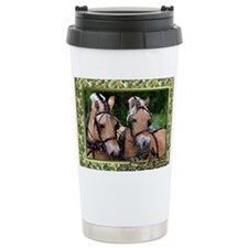 Norwegian Fjord Horse C Travel Mug