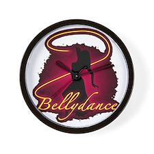 Bellydance Wall Clock