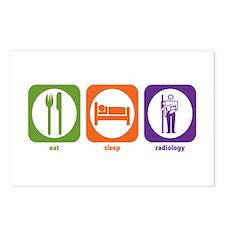Eat Sleep Radiology Postcards (Package of 8)
