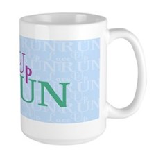 Lace Up and Run Mug