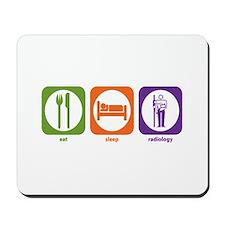 Eat Sleep Radiology Mousepad
