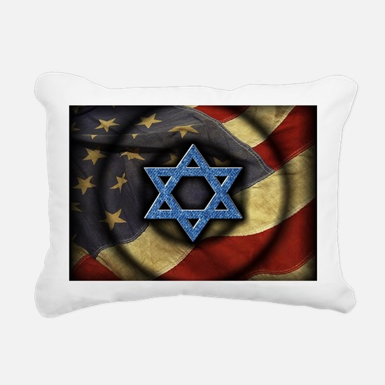 Jewish American Rectangular Canvas Pillow