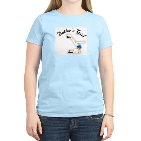 Retro Sailor's Girl Women's Light T-Shirt