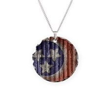 Tennessee State Flag Necklace
