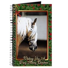 Haflinger Horse Christmas Journal