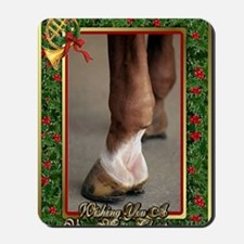 Horse Christmas Mousepad