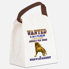 Wanted Canvas Lunch Bag