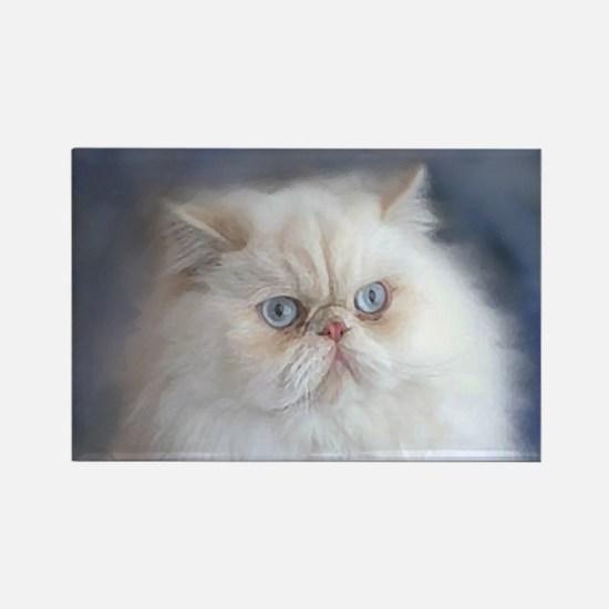 Unique Persian cat Rectangle Magnet