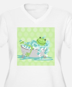 Frog in Tub Showe T-Shirt