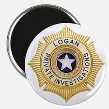 Logan PI Badge 6x6_pocket Magnet