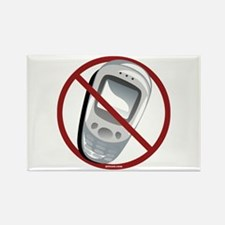 Anti-Cellphone Rectangle Magnet