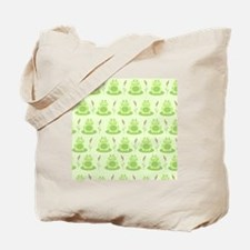 Frog Shower Curtain (Green) Tote Bag