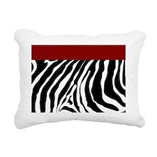 Trendy Zebra Stripe Show Rectangular Canvas Pillow