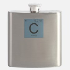 Carbon-based Life Form Flask