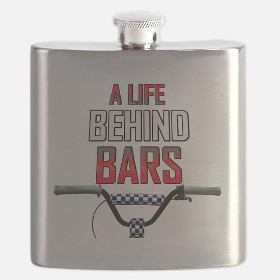 BMX A Life Behind Bars Flask