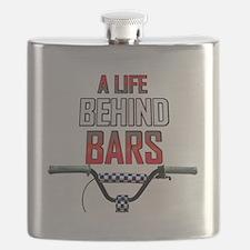 A Life Behind Bars Flask