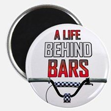A Life Behind Bars Magnet