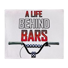 A Life Behind Bars Throw Blanket