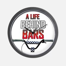 A Life Behind Bars Wall Clock