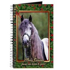 Lusitano Dressage Horse Christmas Journal