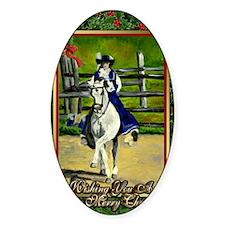 Lusitano Dressage Horse Decal