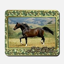 Morgan Horse Christmas Mousepad